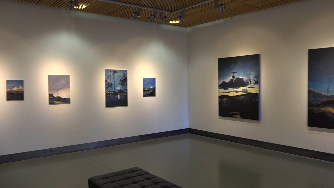 Local artist brings scenes of Highway 97 to life at MAC Gallery