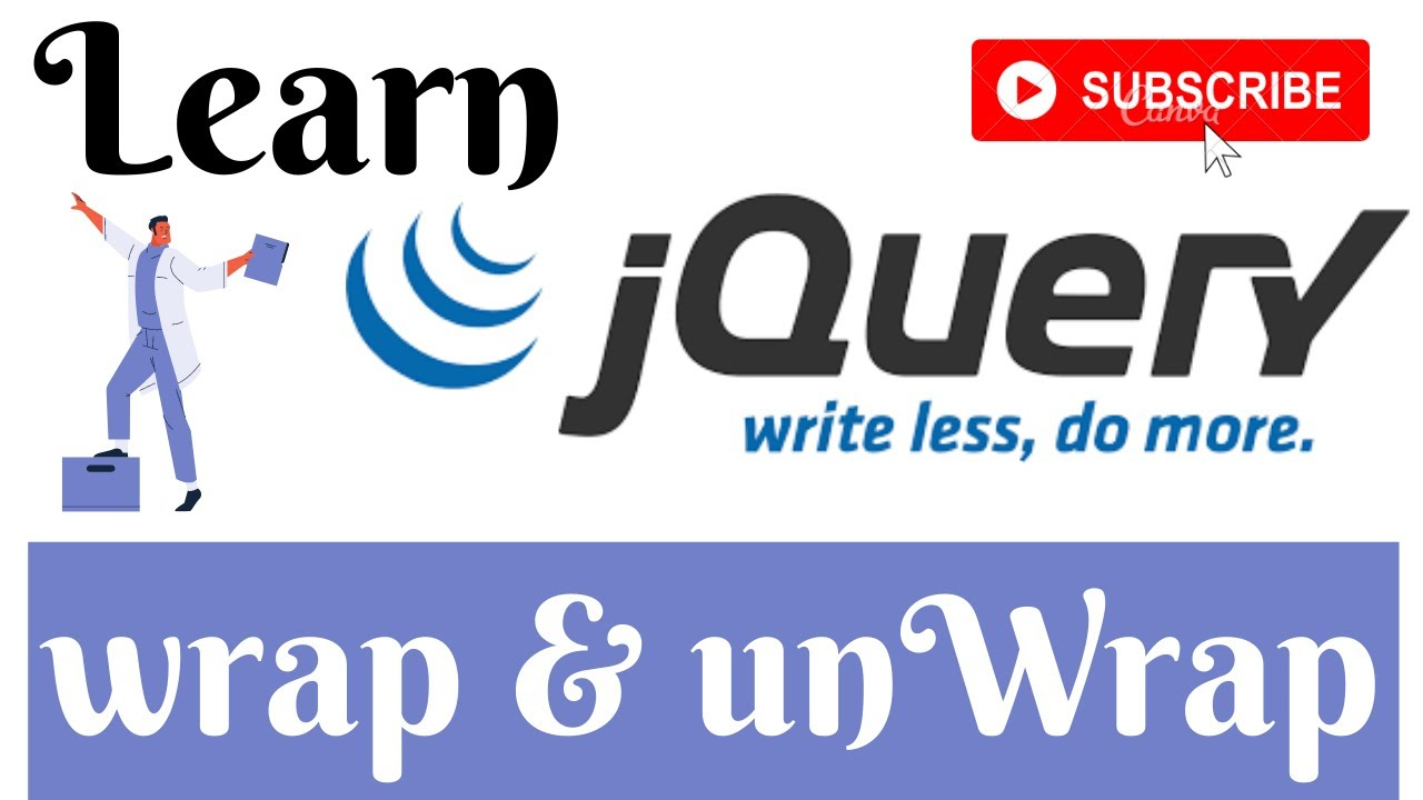 jQuery Lecture - 23 Wrap & Unwrap Method Tutorial in Hindi / Urdu