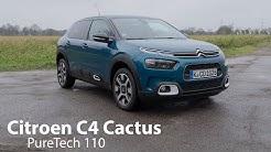 Citroen C4 Cactus PureTech 110 Test / Heute noch so kultig und extravagant wie früher? - Autophorie