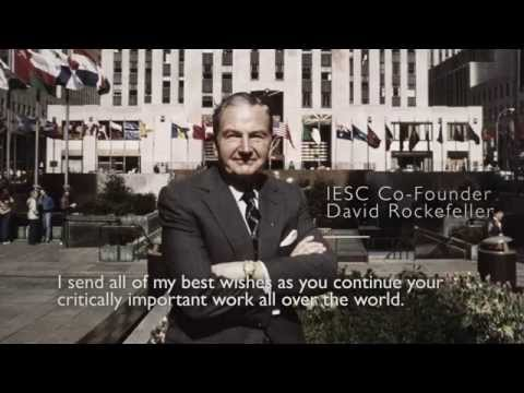 Rockefeller Reflects on IESC's 50th