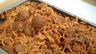 Review: Mre Spaghetti With Meat Balls, Tray Pack From Ameriqual