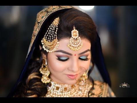 North Indian Bridal Makeup By Jitu Barman