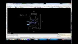 Tutorial Menggambar Fondasi Batu Kali Dengan AutoCAD