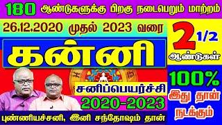 கன்னி ராசி சனிப்பெயர்ச்சி பலன்கள்   Kanni  Sani Peyarchi Palangal 2020 to 2023   2020 - 2023