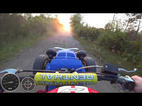 Yamaha Banshee Top Speed With Speed And G-Force Overlay