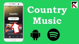 How To Find Country Music Spotify Android