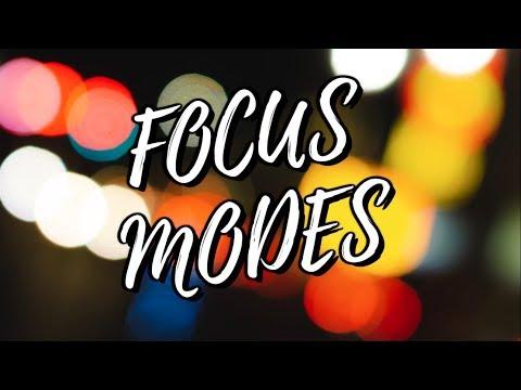 Sony a6000 - Focus Mode Tutorial! [2018]
