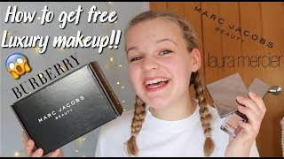 HOW TO GET FREE LUXURY MAKEUP!!! AD~lush leah