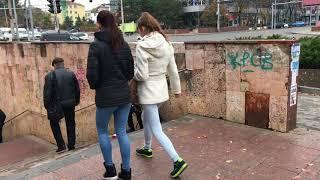 Walking Around Chisinau In Moldova