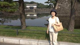 皇居2015 Most Beautiful Japanese the Imperial Palace(Tokyo) Star Beauty from Fukushima Japan.