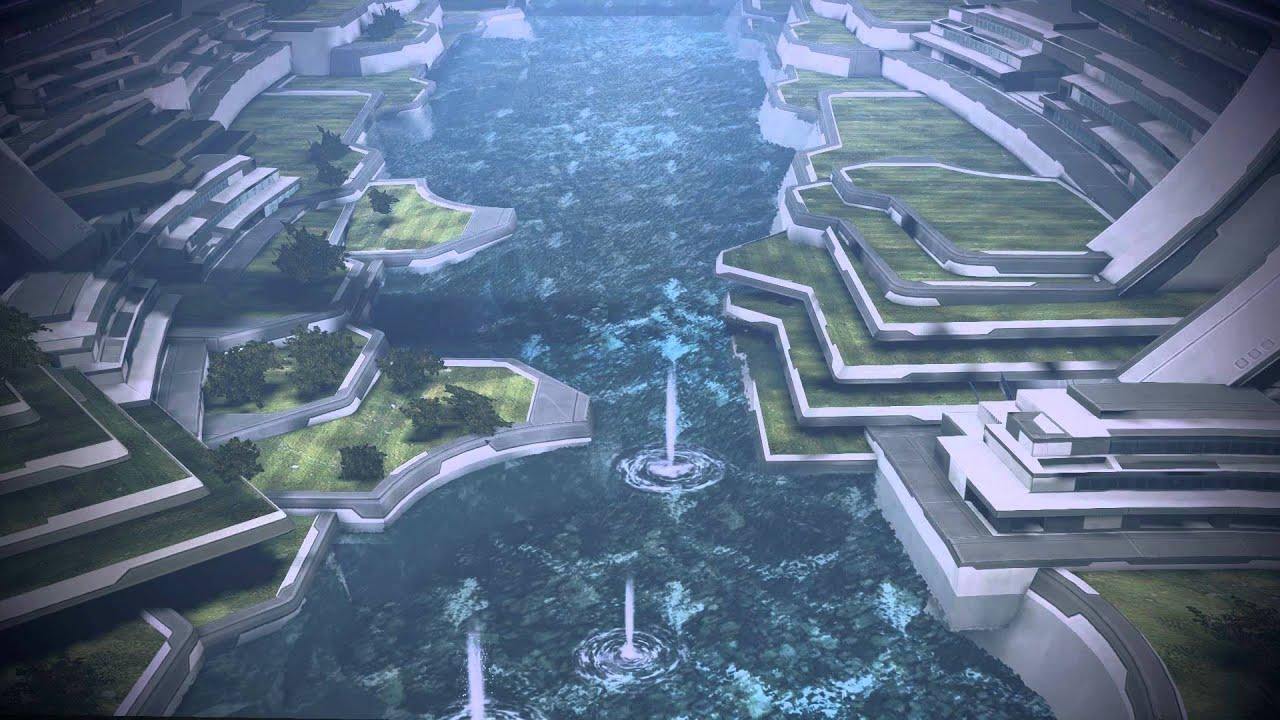 mass effect 3 peaceful lakes of the citadel dreamscene. Black Bedroom Furniture Sets. Home Design Ideas