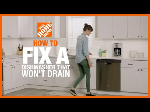 Dishwasher Not Draining | How to Fix a Dishwasher That Won't Drain in 4 Steps