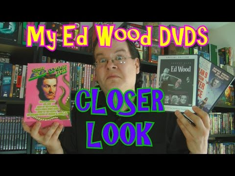 My Ed Wood DVD Collection Closer Look