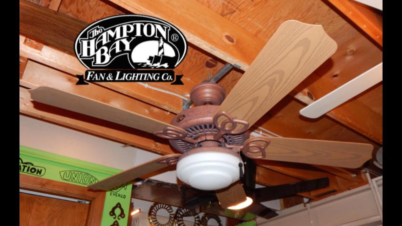 Hampton Bay Gazebo Ceiling Fan 1080p Hd Remake Youtube
