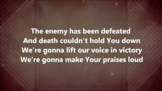Freedom Is Here/shout Unto God Hillsong United W/ Lyrics