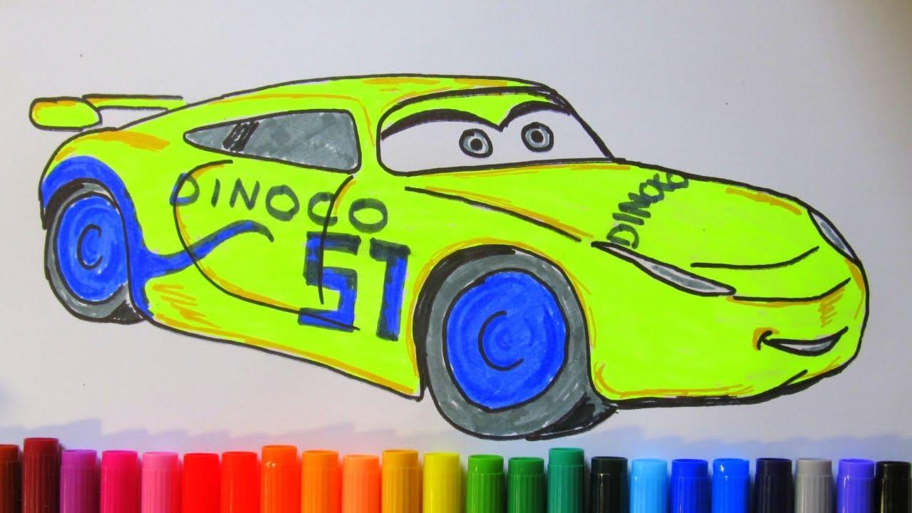 How To Draw Cruz Ramirez Disney Pixar Cars 3 2017 Youtube