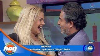 Niurka sorprende a Raúl 'El Negro' Araiza por su cumpleaños | Hoy