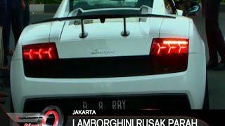Lamborgini Tabrak Sepeda Motor Di Boulevard Kelapa Gading - iNews Siang 07/09
