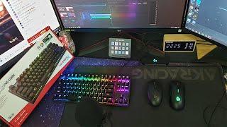 Review: Unbox bàn phím cơ Kingston HyperX Alloy Origins Core TKL RGB ( Switch Aqua )