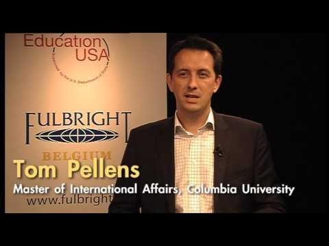 Seeking a Master's Degree in the US - Tips from Fulbright Grantee Tom Pellens
