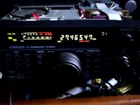 TS-450S con antena tuner, fue una alineacion.
