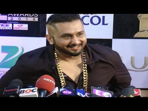 Yo Yo Honey Singh's UNCENSORED FIRST INTERVIEW | Zee Cine Awards 2016
