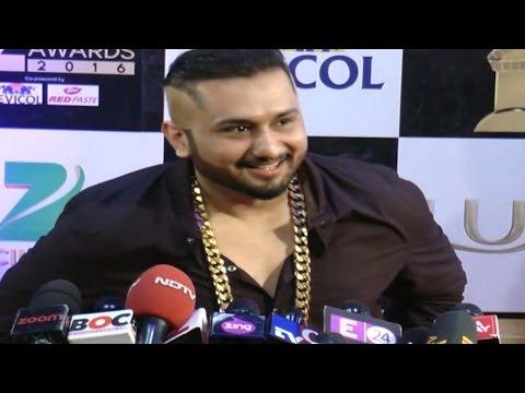 Yo Yo Honey Singh's UNCENSORED FIRST INTERVIEW | Zee Cine Awards 2016