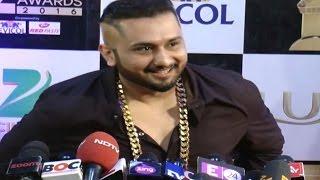 Yo Yo Honey Singh's UNCENSORED FIRST INTERVIEW   Zee Cine Awards 2016