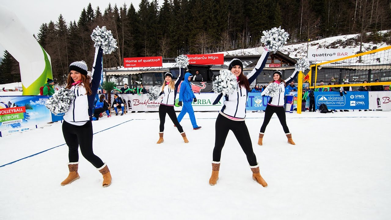 Špindlerův Mlýn 2017 - CEV Snow Volleyball European Tour - YouTube