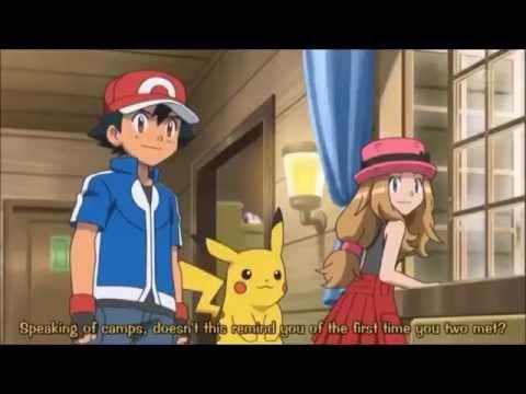 Ash y Serena - Mi corazon encantado amourshipping