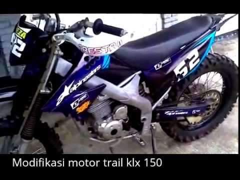 kumpulan modifikasi motor trail klx