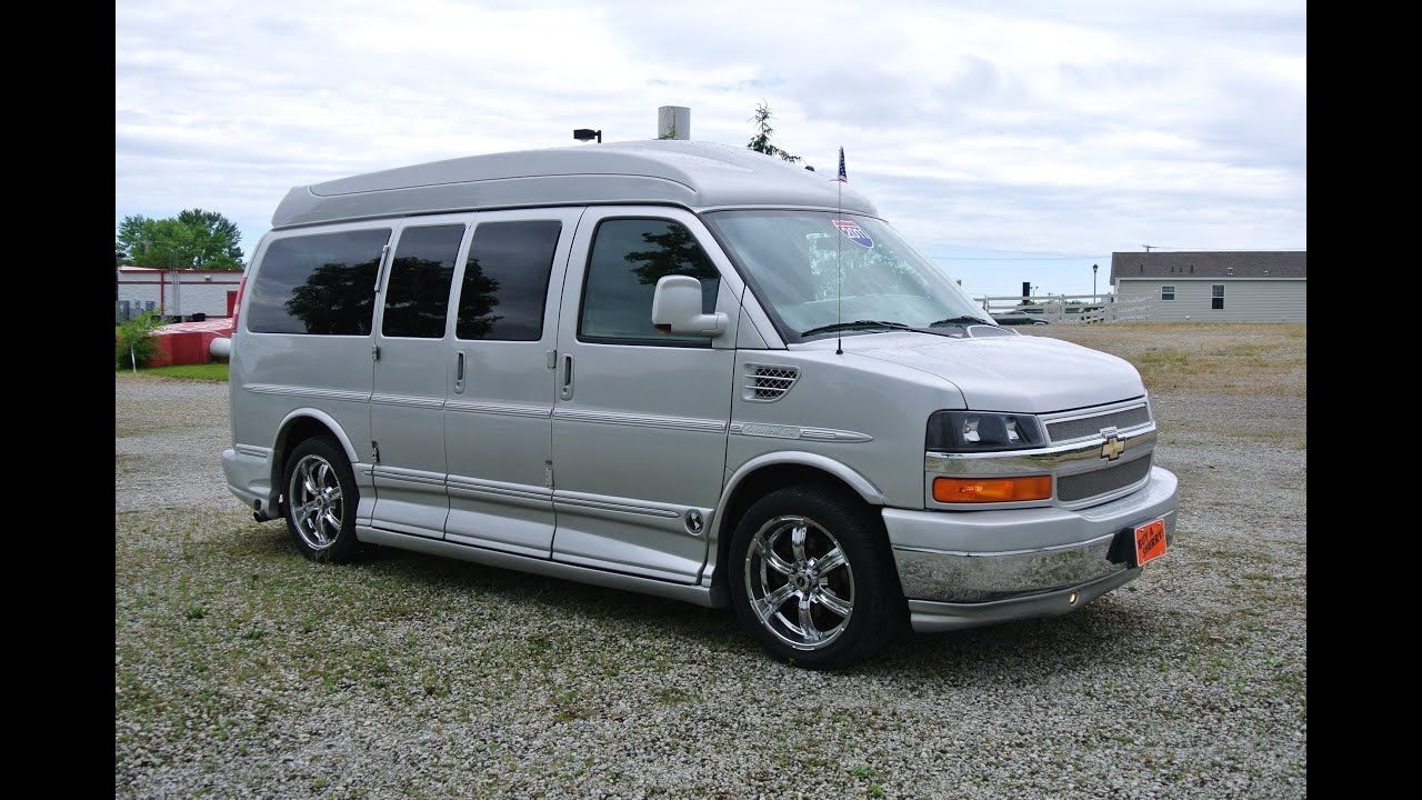 2011 chevrolet explorer 7 passenger hi top conversion van paul sherry conversion vans. Black Bedroom Furniture Sets. Home Design Ideas