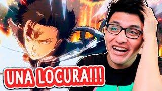 """Shingeki No Kyojin Season 3 Capitulo 2 """"LEVI vs KENNY y su ESCUADRÓN"""" REACCIÓN Y CRITICA"""