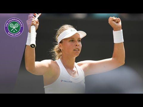 Anett Kontaveit Wimbledon 2019 Second Round Interview