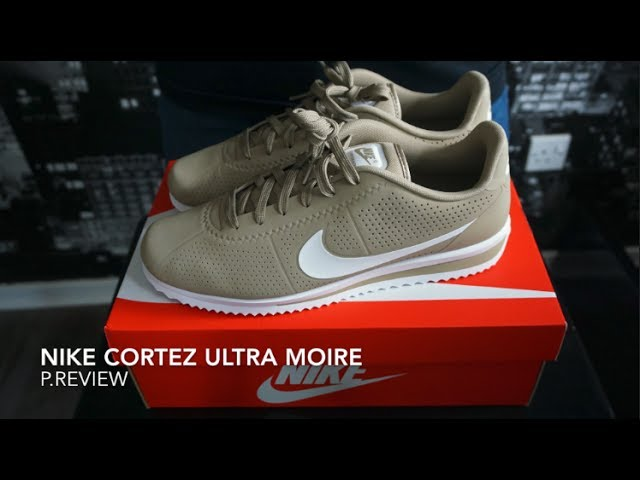 Nike Cortez Ultra Moire / Review - YouTube