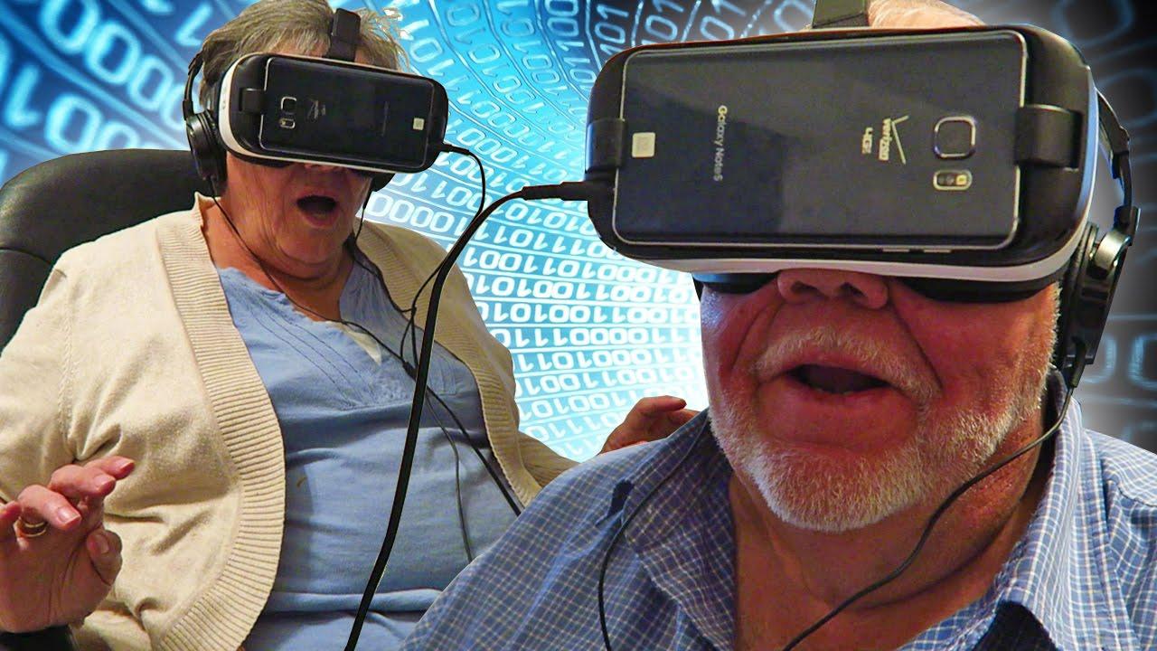 Lansia Dapat Melawan Depresi dengan Kaca Mata Realitas Virtual