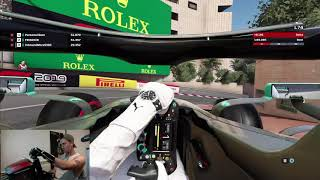 F1 2019 Monaco Hot Lap! 1:09.681 Original Commentary