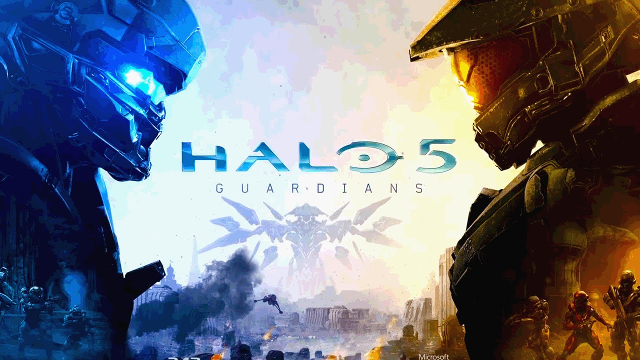 Halo 5 Guardians Cover Halo 5 Guardians New Official