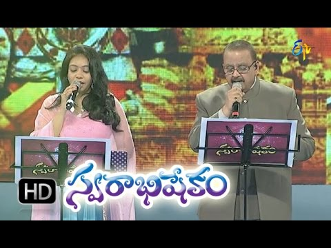 Telugu Padaniki Song - SP Balu, Srilekha Performance in ETV Swarabhishekam - 11th Oct 2015