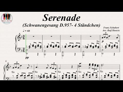 Serenade (Schwanengesang D.957- 4 Ständchen) - Franz Schubert, Piano