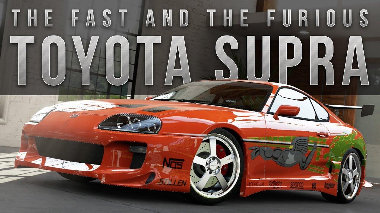 Fast And Furious 1 Cars: Forza 5 Fast & Furious Car Build : Supra