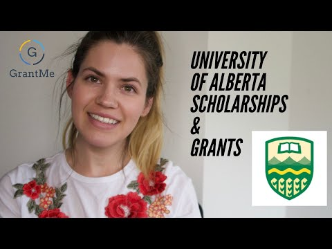 University of Alberta Scholarships and Grants
