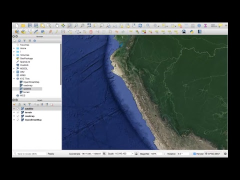 How to add a Google Map/Terrain/Satellite Layer in QGIS 3 - Tutorial