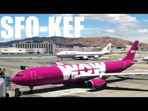 WOW Air - San Francisco to Keflavik - Airbus A330-300 - WW162