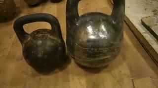 Гордеевская бомба (гирька на 80 кг) / 80 kg monster kettlebell