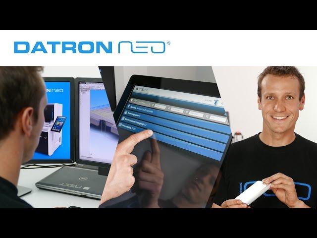 DATRON neo Tutorial - DATRON neo Workflow