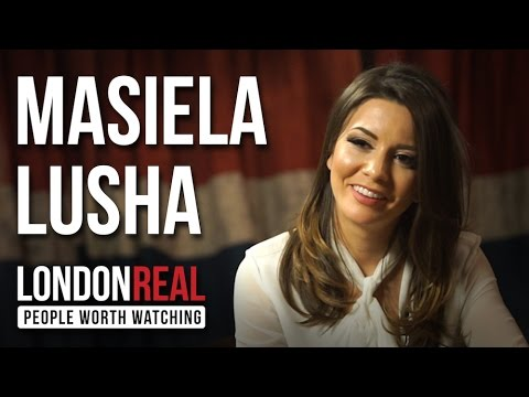 Masiela Lusha - My Life As A Refugee - PART 1/2 | London Real
