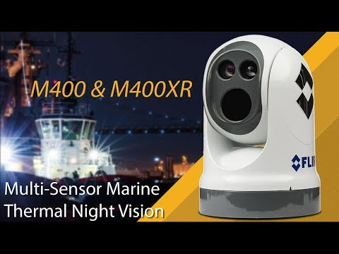 FLIR M400 Multi Sensor Marine Thermal Night Vision