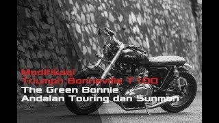Video Modifikasi Triumph Bonneville T100, The Green Bonnie Andalan Touring dan Sunmori download MP3, 3GP, MP4, WEBM, AVI, FLV September 2018