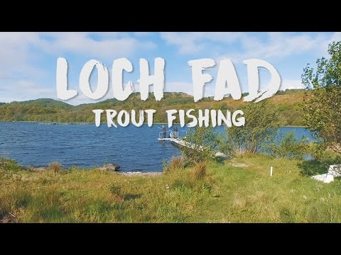 Loch Fad | Trout Fishing - Epic Size Fish!